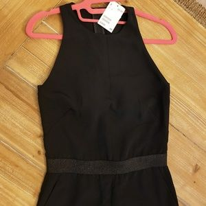 NWT H&M Black and Glittery Black Jumper